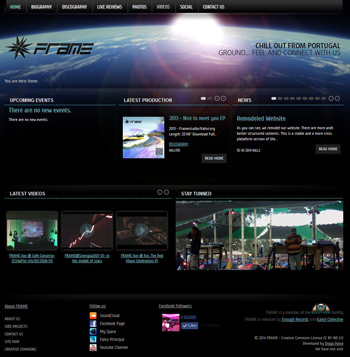 remodeled website